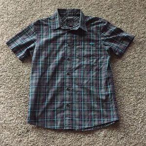 Oakley shirt sleeve button up